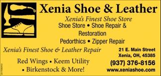 Shoe store, repair & restoration, pedorthics