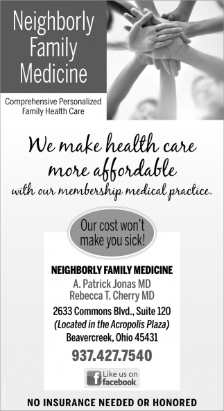Comprehensive Personalized Family Health Care