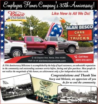 Employees Honor Company S 35th Anniversary Alan Besco Car Truck Super Xenia Oh