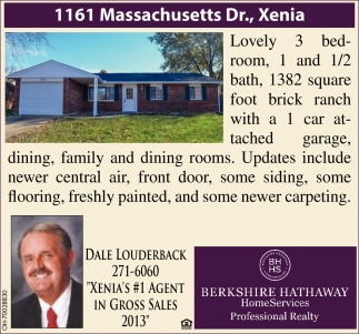 1161 Massachusetts Dr., Xenia