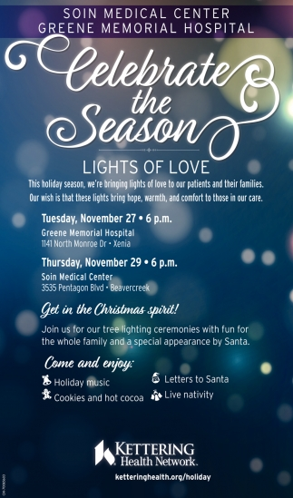 Celebrate the Season, Lights of Love