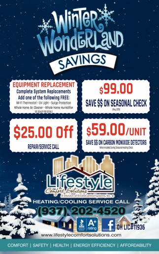 Winter Wonderland Savings
