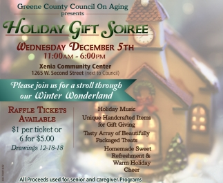 Holiday Gift Soiree