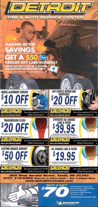 Tire service and complete auto care