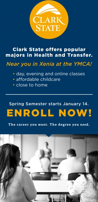Majors in Health and Transfer
