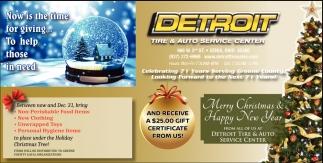 Tire service and complete auto care