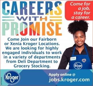 Careers with Promise, Kroger: Fairborn, Xenia
