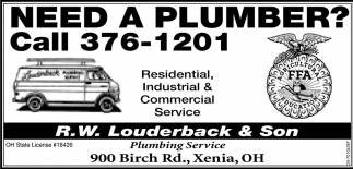Residential, Industrial & Commercial Service