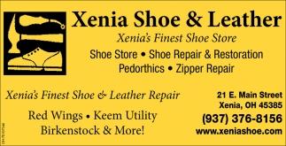 Xenia's Finest Shoe Store