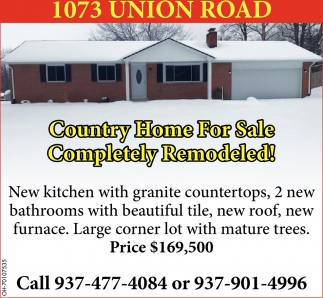 1073 Union Road, Xenia
