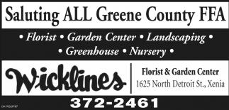 Saluting all Greene County FFA
