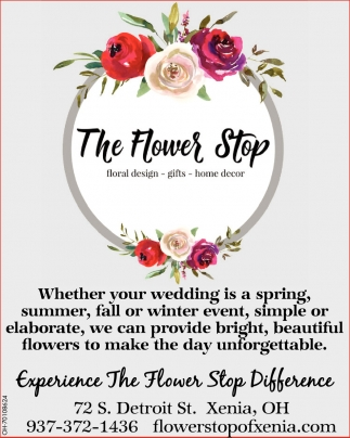 Experience The Flower Stop Difference
