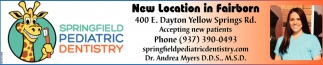 New Location in Fairborn
