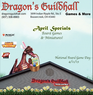 April Specials - Board Games & Miniatures