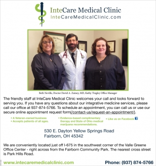 The friendly staff at InterCare Medical Clinic welcomes your call and looks forward to serving you