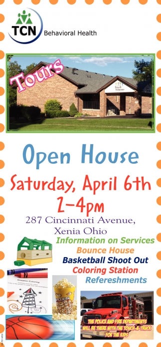 Open House April 6th