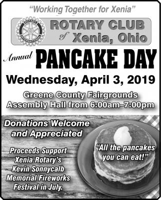 Annual Pancake Day