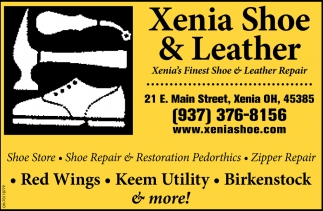 Xenia's Finest Shoe & Leather Repair