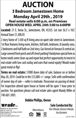 Auction April 29th