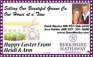 Happy Easter From Heidi & Ann