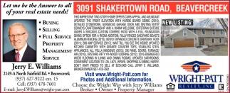 3091 Shakertown Road, Beavercreek
