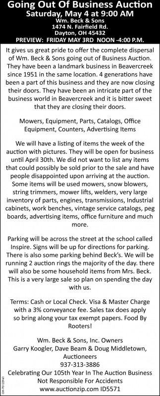 Business Auction