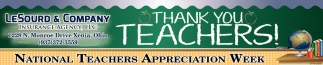 National Teachers Appreciation Week
