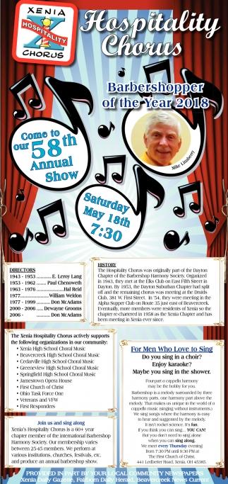 58th Annual Show