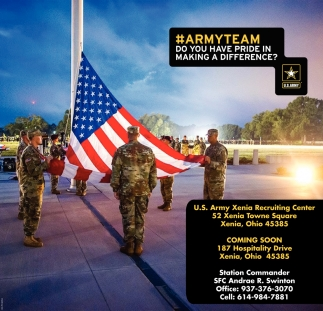 Army Team - Do you have pride in making a difference?