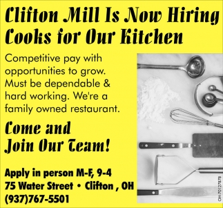 Hiring now Kitchen Cooks for our Kitchen