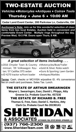 Two Estate Auction