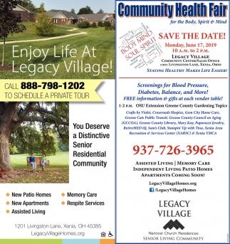 Community Healt Fair June 17