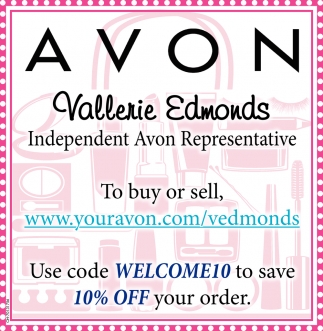 Vallerie Edmonds, Independent Avon Representative