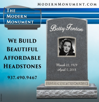 We buid beautiful affordable headstones