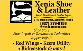 Xenia's Finest Shoe Store & Leather Repair
