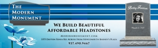 We buidl beautiful affordable headstones