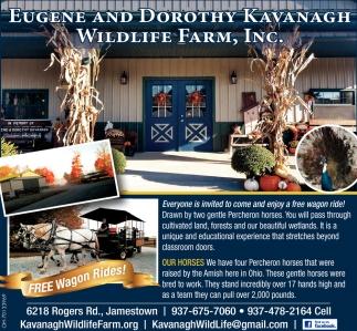 Wildlife Farm - Free Wagon Rides!
