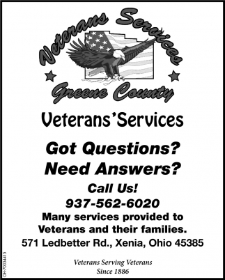Veterans Serving Veterans Since 1886