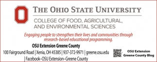OSU Extension Greene County
