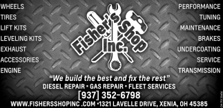 We build the best and fix the rest