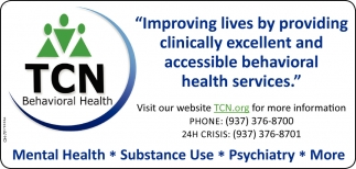 Improving lives by providing clinically excellent and accesible behavioral health services
