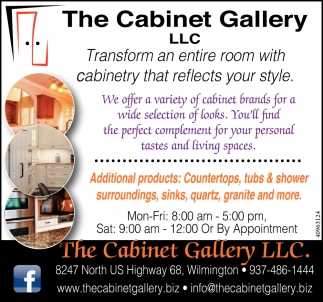 Transform an entire room with cabinetry that reflects your style