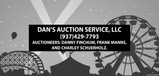 auctioneers: Danny Finchum, Frank Manns, Charley Schuerhoz,