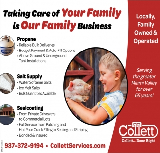 Taking Care of your Family is Our Family Business