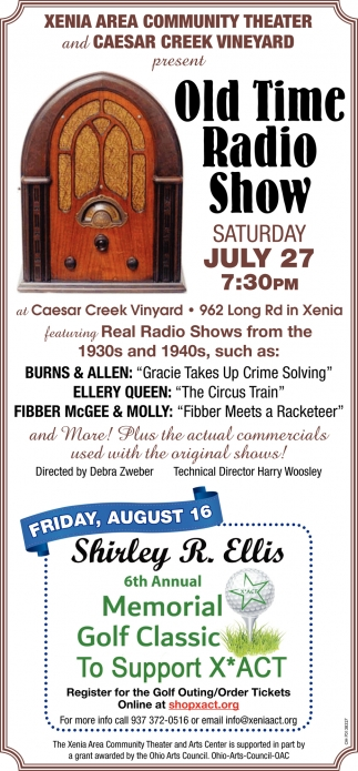 Old Time Radio Show - July 27th