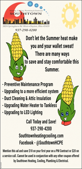 Don't let the Summer heat make you and your wallet sweat!