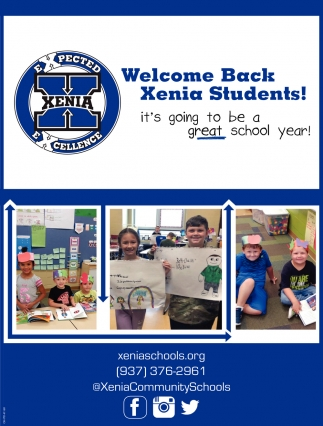 Welcome Back Xenia Students!