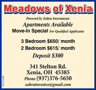 Apartments Available