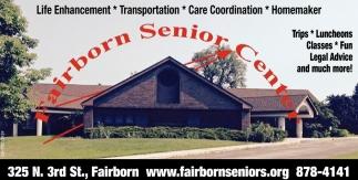 Life Enhancement, Transportation, Care Coordination, Homemaker