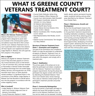 What is Greene County Veterans Treatment Court